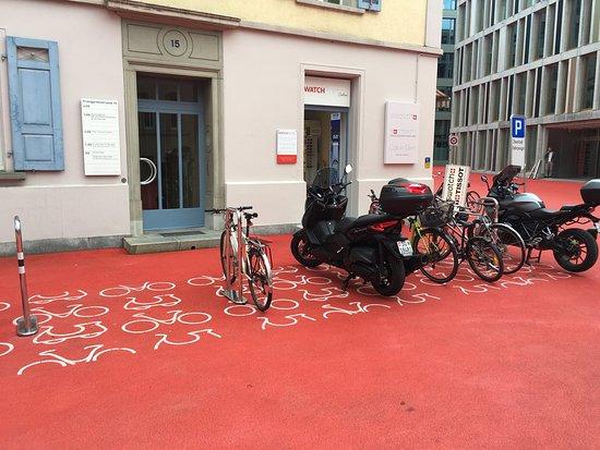 Bleicheli  Stadtlounge: À deux pas de l'abbatiale, la quartier des affaires Bleicheli de Saint-Gall vient interroger le