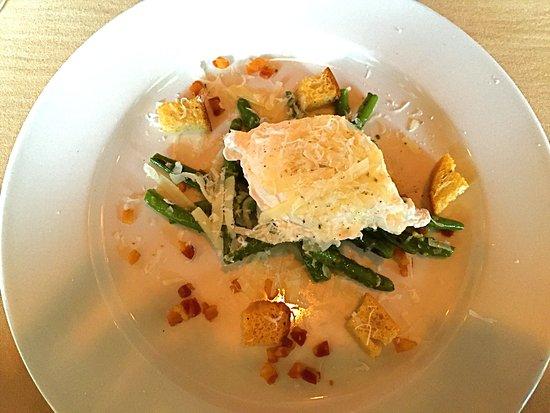 Clawson, MI: Love this green bean and egg dish!  (Kitchen split portion) A favorite.