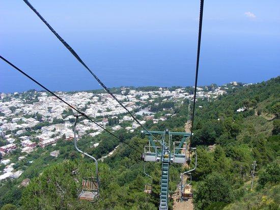 Mount Solaro: Anacapri libegő