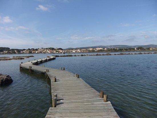 Peyriac-de-Mer, Francia: Le ponton