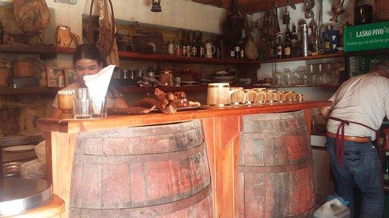 Skradin, Kroatië: interno / cucina
