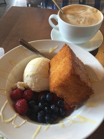 Alpharetta, GA: French toast at The Nest Cafe