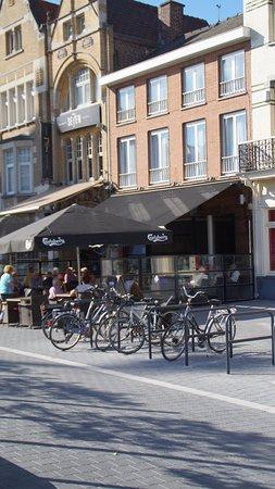 Roeselare, Belgien: terras