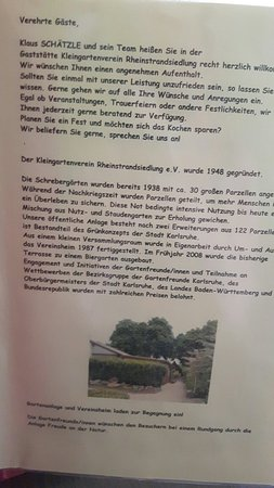 Gaststatte Kleingartenverein Rheinstrandsiedlung Picture Of