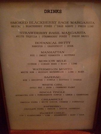 Milford, NH: Drink menu