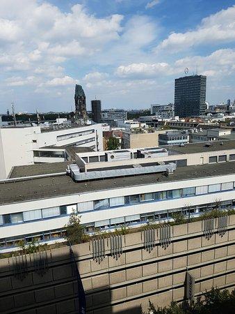 Sofitel Berlin Kurfuerstendamm: Zimmeraussicht von der 11. Etage