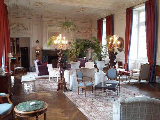 Curzay-sur-Vonne, Francia: Salon
