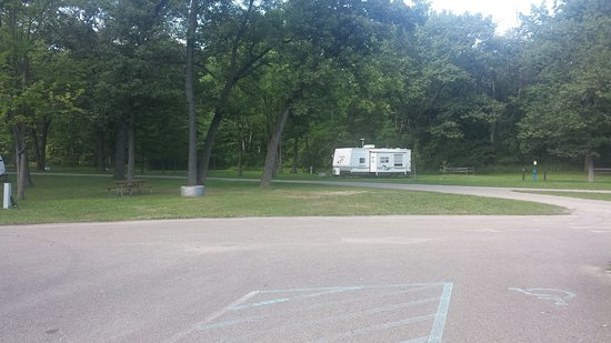 Bay City, MI: Campground area