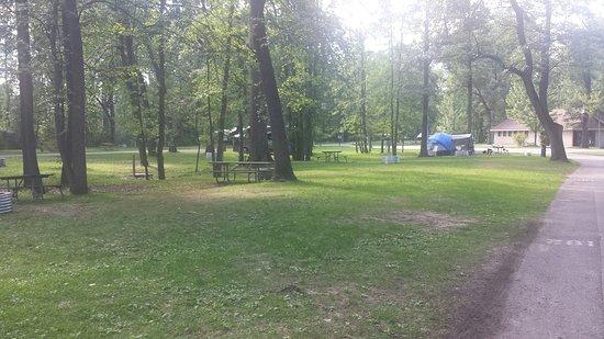 Bay City, Μίσιγκαν: Campground area