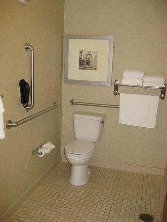 hilton garden inn fargo toilet with grab bars - Hilton Garden Inn Fargo