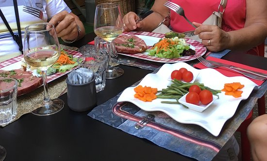Thann, France : Our dishes