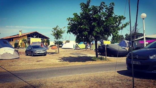 Vieux-Boucau-les-Bains, فرنسا: Camping Municipal Les Sablères