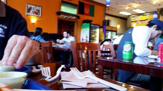 Tysons Corner, VA: Nice tables
