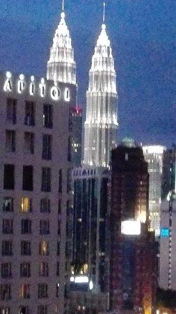 Melia Kuala Lumpur: vista desde la terraza