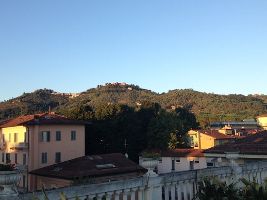Hotel Parma e Oriente: view from my room