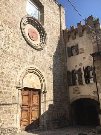 Civitella del Tronto, Italien: La Chiesa di San Francesco