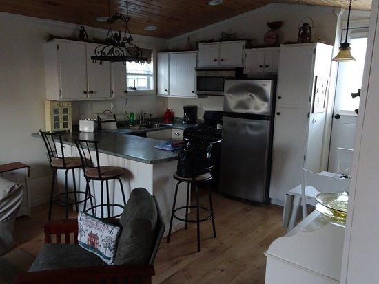 Punxsutawney, PA: Küche in der Ferienwohnung