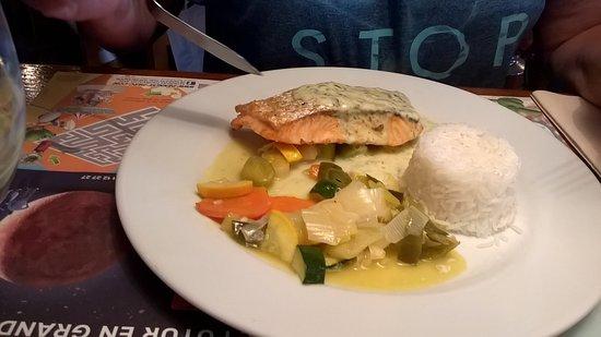 Etaples, França: saumon