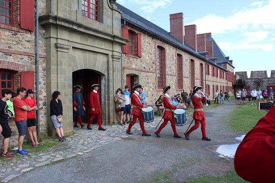 Fortress of Louisbourg.
