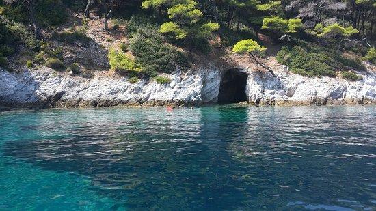 Diamanti sailing in Skiathos