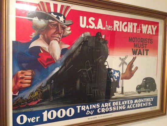 Staunton, VA: Old poster