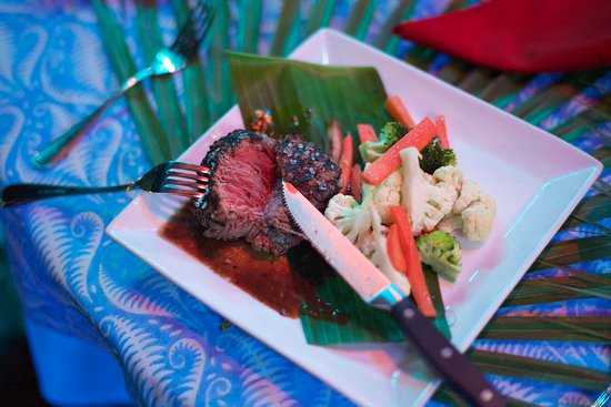 Belize Boutique Resort & Spa: Filet Mignon Cooked to Prefection