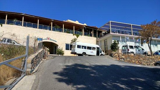 Elounda Residence: Steep last 100m