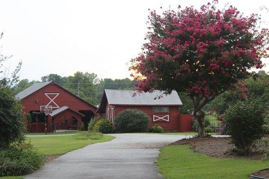 Salem, SC: The barns and cottage