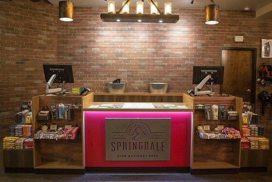 Springdale, UT: Information Desk
