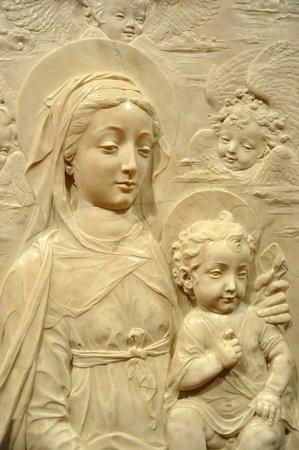 Virgin and child, Antonio Rossellini, before 1461