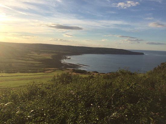 Views from this exceptional Ravenscar B&B