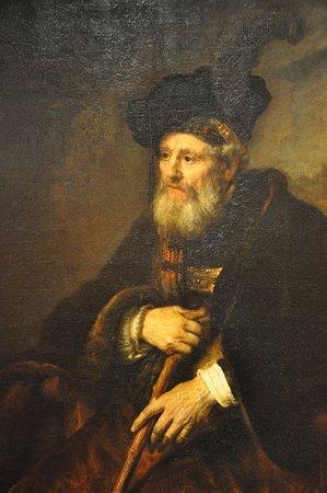 Portrait of an old man, Rembrandt, 1645