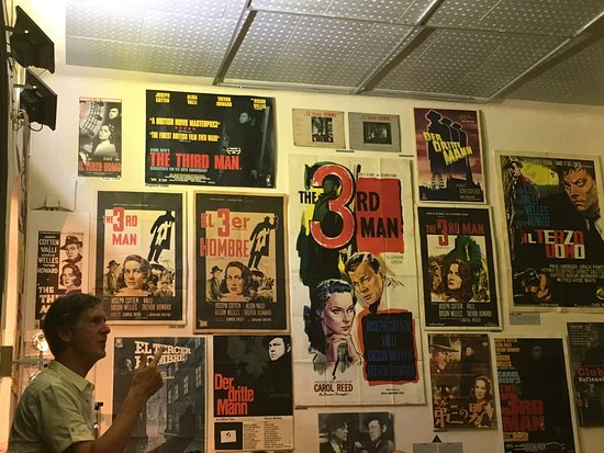 The Third Man Museum: Tour Guide with posters