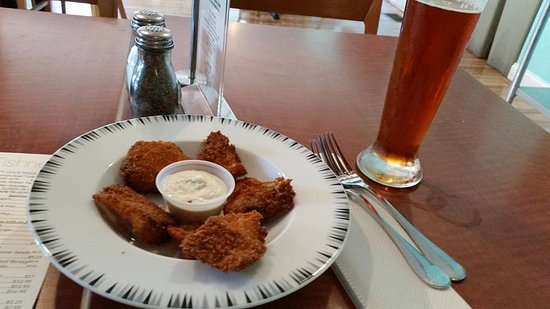 Колледж-Парк, Мэриленд: Fish sticks with a DC Brau