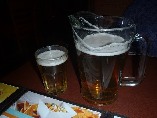 pitcher of beer picture of kelsey s neighborhood bar grill