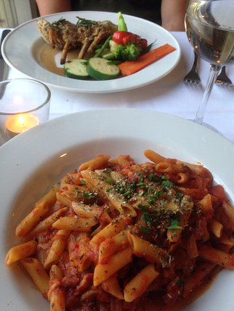 Ajax, Canada : lamb and penne all'amartrica