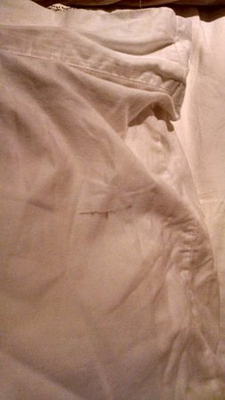 The Breakers : black marks on pillow cases