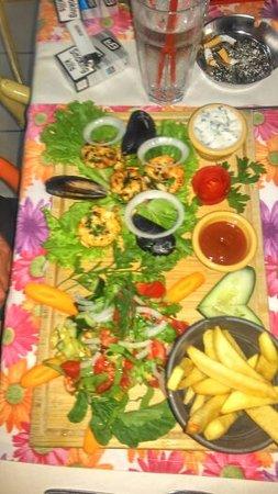 Senbay Restaurant : king prawn seafood dish.....amazing