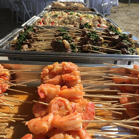 Sechelt, Canadá: Wedding catering