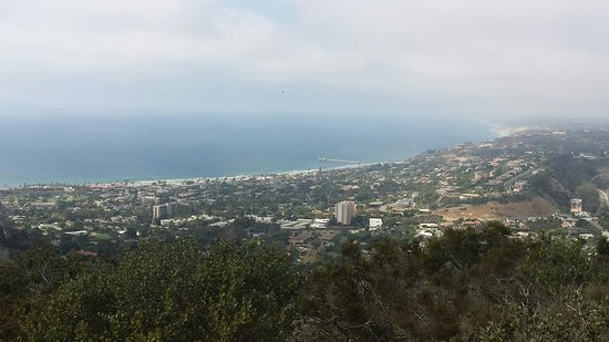Mount Soledad: View toward ocean