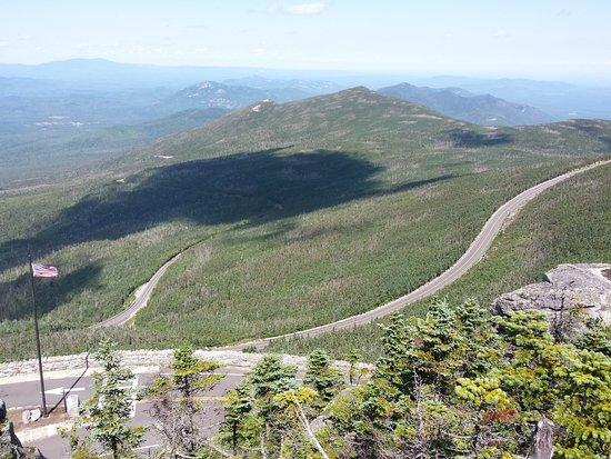 วิลมิงตัน, นิวยอร์ก: Veterans Highway, taken from the rock trail to the summit