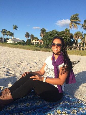 Fort Lauderdale Beach: Roxy having fun!