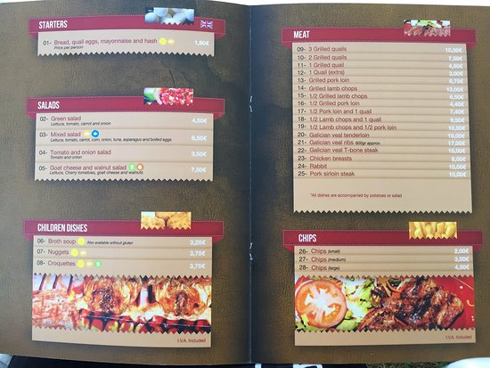 Montuiri, Spain: Pictures at 8 pm and at 9 pm, plus the current menu.