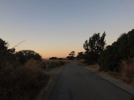 Palo Alto, Kalifornien: Sunset at the preserve