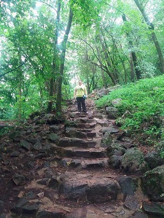 Baraboo, WI: beginning of the West Bluff Trail