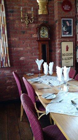 The Belvoir Alehouse: Table Detail