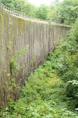 Rideau Canal - Jones Falls Defensible Lockmasters House: Jones Falls Ontario Dam