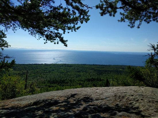 Lake Superior as seen from Carlton Peak. 8/26/2016.
