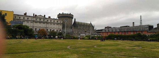 都柏林城堡照片