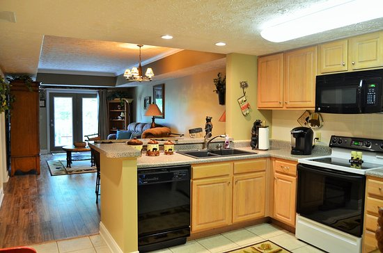 Golfview Vacation Rentals at GolfView Resort : Kitchen stocked with everything you need for your stay